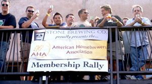 AHA Rally at Stone Brewing Co.