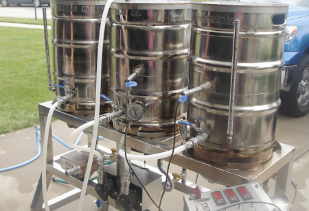 5 Thumbs Single Tier Brewery American Homebrewers