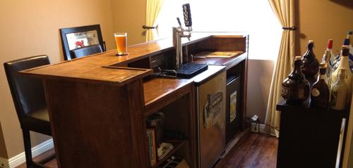 Home Bar Plans With Kegerator Plans DIY Free Download Best ...
