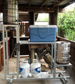 Justin S Brew Stand American Homebrewers Association