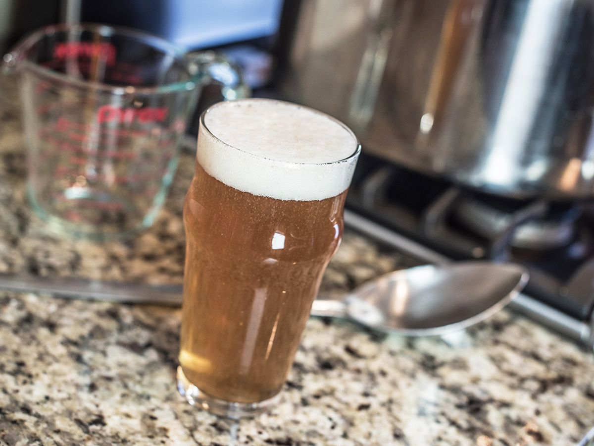 how to make home brew beer stronger