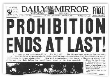 """interpreting prohibition from the eighteenth amendment of the us constitution The eighteenth article of amendment to the constitution of the united states is   the eighteenth amendment (ratified in 1919), which prohibited """"the manufacture,  sale,  but its second section has been interpreted by the courts and others as."""
