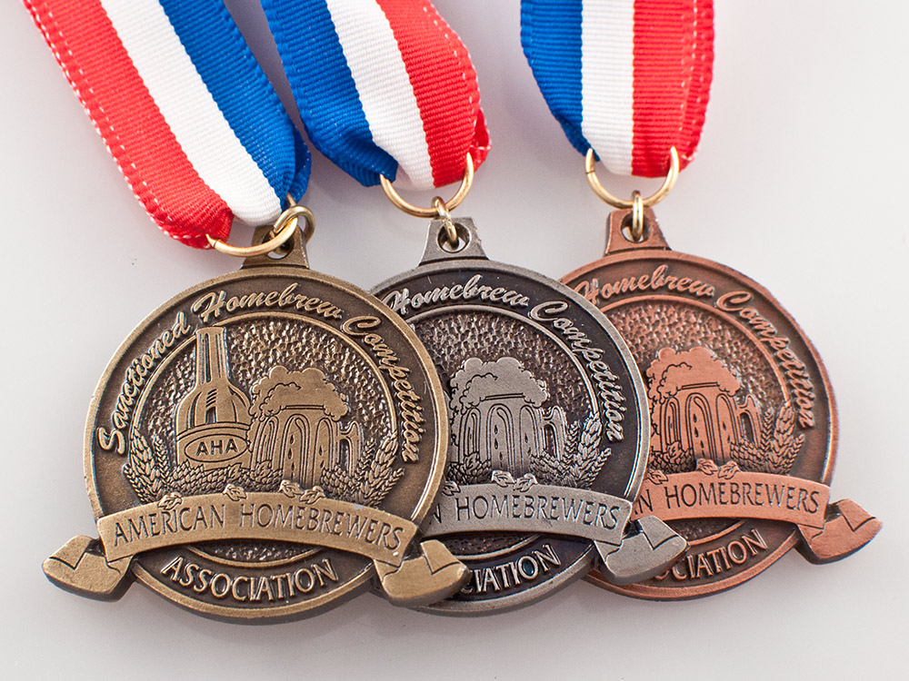 Homebrewing Medals